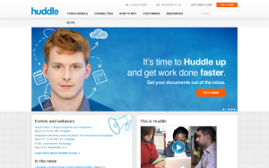 Integrate SharePoint with Huddle
