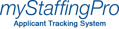 Logo for myStaffingPro Applicant Tracking and Recruiting System