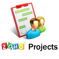 Logo for Zoho Projects
