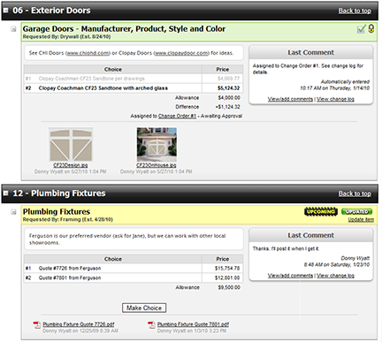 Co construct review pricing features comparison demo for Custom home builder selection sheet