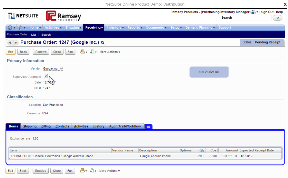 Netsuite Inventory Management Reviews Features Pricing