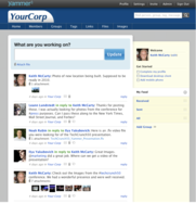 Screenshot #2 of Yammer ()