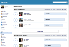 Screenshot #1 of Yammer ()