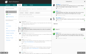 Screenshot #1 of Freshdesk (Social - Twitter)