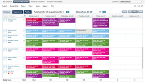 Screenshot #1 of NimbleSchedule (Schedule view)