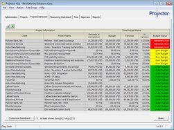 Screenshot #4 of Projector PSA (Project Dashboard)