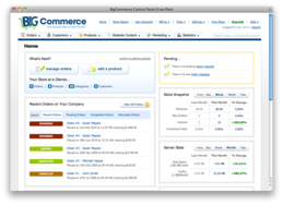 Screenshot of BigCommerce ()