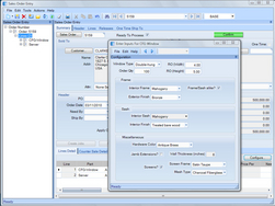 Screenshot of Epicor Manufacturing Express Edition (Epicor Express Configurator)