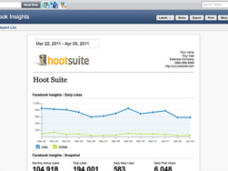 Screenshot #1 of HootSuite ()