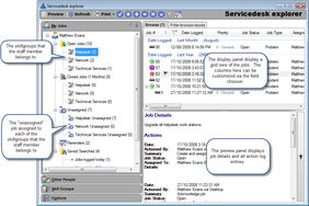 Screenshot #2 of HelpMaster (Helpdesk explorer)