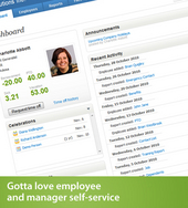 Screenshot of BambooHR (HR Software Employee Record)