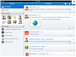 Screenshot #4 of Salesforce Sales Cloud (Salesforce Chatter)