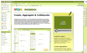 Screenshot #1 of Zoho Notebook (Dokument Management Tool)