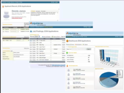 Screenshot of AcquireTM (Web-based applicant tracking)