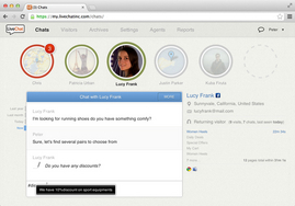 Screenshot #3 of LiveChat (LiveChat - chat window)
