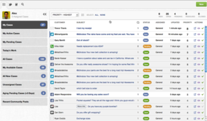 Screenshot #2 of Desk.com for Google Apps (Social CRM)