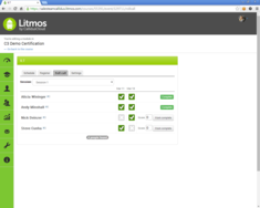 Screenshot #7 of Litmos LMS (ILT Roll Call 01)
