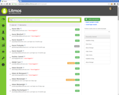 Screenshot #5 of Litmos LMS (People Tab 01)