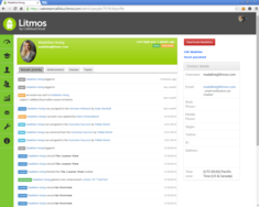 Screenshot #1 of Litmos LMS (User Profile 01)