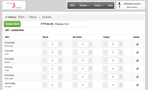 Screenshot #3 of ZingCheckout (Easily keep track of stock)