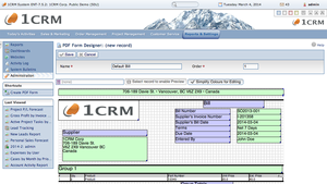 Screenshot #6 of 1CRM  ()