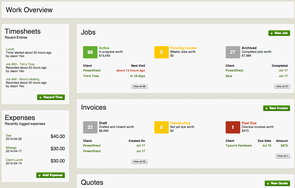 Screenshot #2 of Jobber (Jobber Work Overview)
