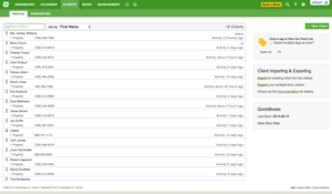 Screenshot #3 of Jobber (Jobber Client List)