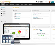 Screenshot #2 of Converge Enterprise (Converge Mobile Interface)
