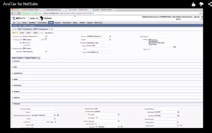 Screenshot #3 of Avalara (NetSuite Sales Tax Integration)