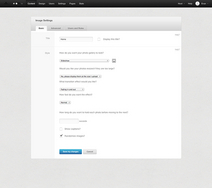 Screenshot of LightCMS (LightCMS UI Example)