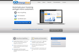 Screenshot #1 of ChargeOver Recurring Billing ()