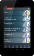 Screenshot of Salespoint Mobile CRM (Upcoming Events )