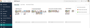 Screenshot #5 of Zoho Projects (Project chat)