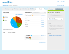 Screenshot #4 of Mindflash (Course Dashboard)