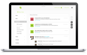 Screenshot #5 of Lettuce Apps (Communicate with your entire team & keep a pulse on your business with our news feed. Get real-time updates on orders, inventory, sales rep activity and more.)