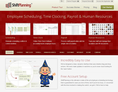 Screenshot of ShiftPlanning (Online Employee Scheduling, Time Clocking, Payroll & Human Resources)