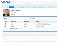 Screenshot #2 of FinancialForce HCM (Human Capital Management) (Employee and Manager Self Service)
