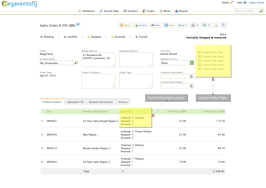 Screenshot #1 of Megaventory (Partial Shipping/Invoicing of Sales Orders )