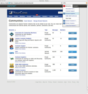 Screenshot #1 of Yammer (Yammer - The Enterprise Social Network)