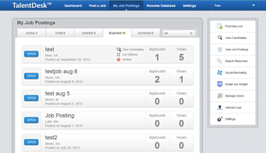 Screenshot #1 of TalentDesk ()