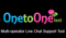 Logo for One to One Text