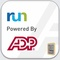 Logo for RUN Powered by ADP