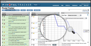 Screenshot #2 of Pivotal Tracker (Pivotal Tracker)