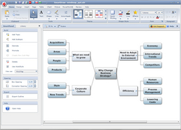 Screenshot #3 of SmartDraw (SmartDraw Mind Map Example)