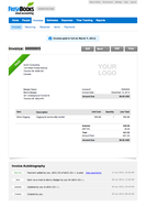 Screenshot #5 of FreshBooks (FreshBooks View Invoice)