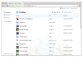 Screenshot #4 of Dropbox ()